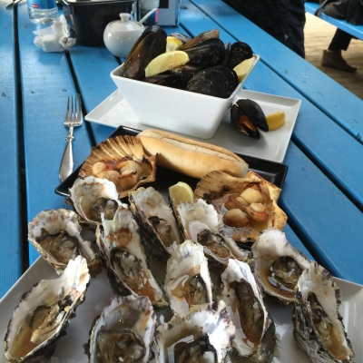 Oysters too!