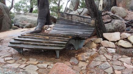 Rustic seat