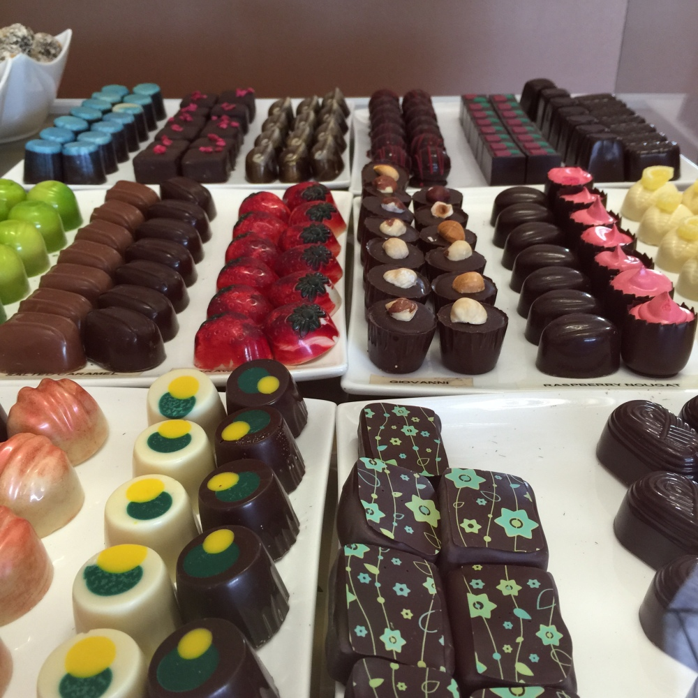 Chocolates at the Nutpatch, Kettering