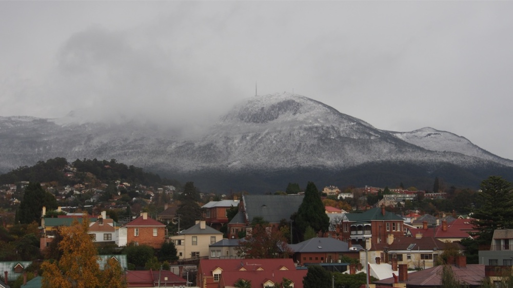 Mt Wellington - mist