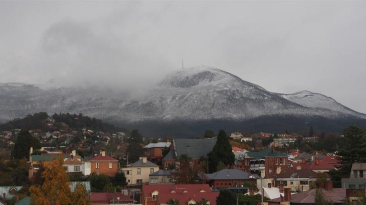 Mt Wellington - mist