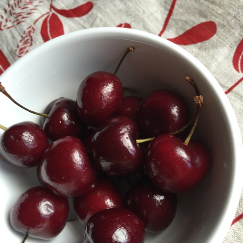 The cherry season was great this year.