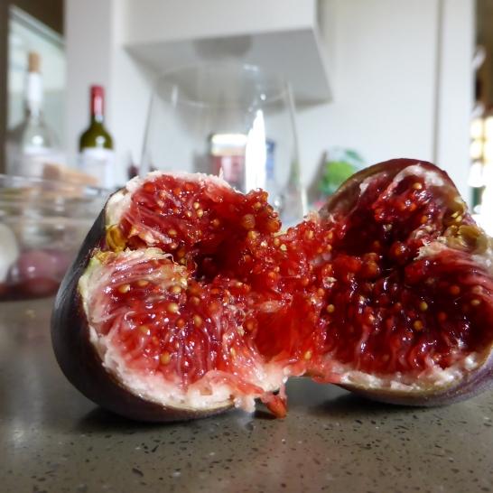 Fresh figs signalling the last days of summer...