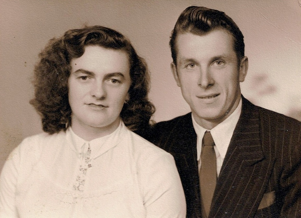 Wedding photo 1950 Halifax Yorkshire England