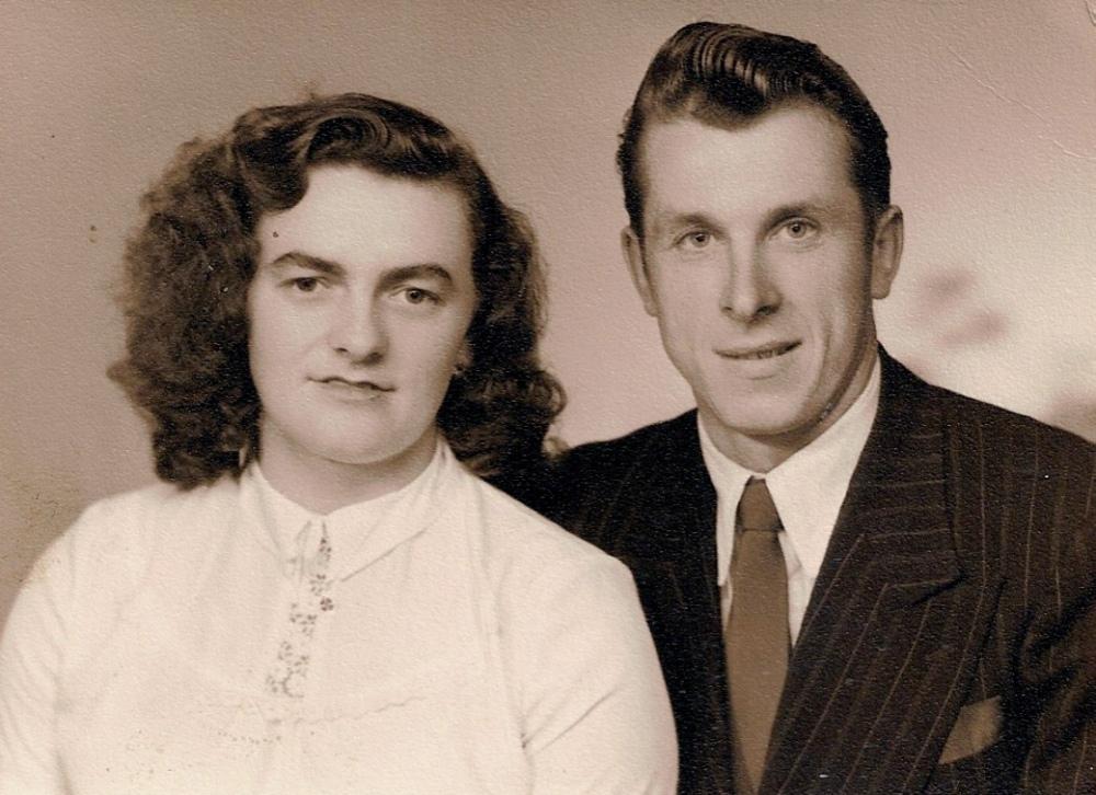 Wedding photo 1950 Halifax Yorkshire England